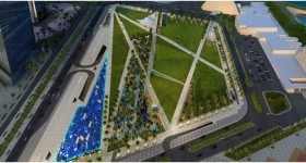 South East Car Park for Qatar Foundation in Education City