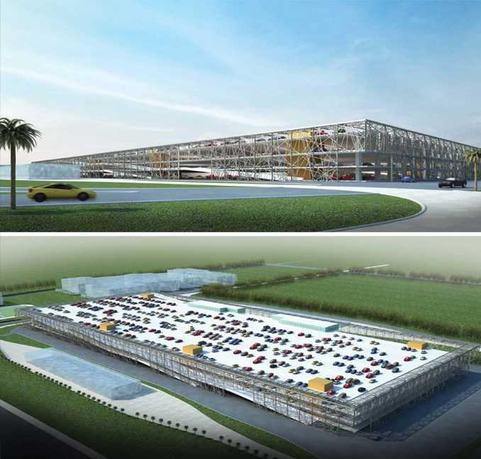 West Underground Car Park for Education City in Qatar Foundation